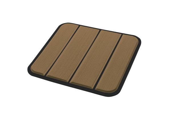6mm - Brossé - Brown/Black